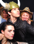 Katie McGrath and Colin Morgan Series 4 Wrap Party