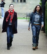 Katie McGrath and Angel Coulby-6