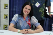 Katie McGrath Comic Con 2011