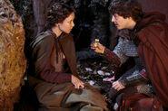 Mordred and kara