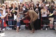 Colin Morgan and Fans Behind The Scenes Series 5-1