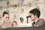 Katie McGrath and Colin Morgan Comic Con 2012 Merlin Panel