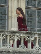 Angel Coulby Behind The Scenes Series 5-4