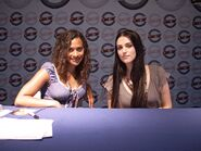 Angel Coulby and Katie McGrath-4