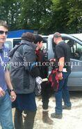 Alexander Vlahos and Colin Morgan Behind The Scenes Series 5-1