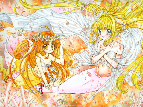 Manga - Mermaid Seira & Lucia