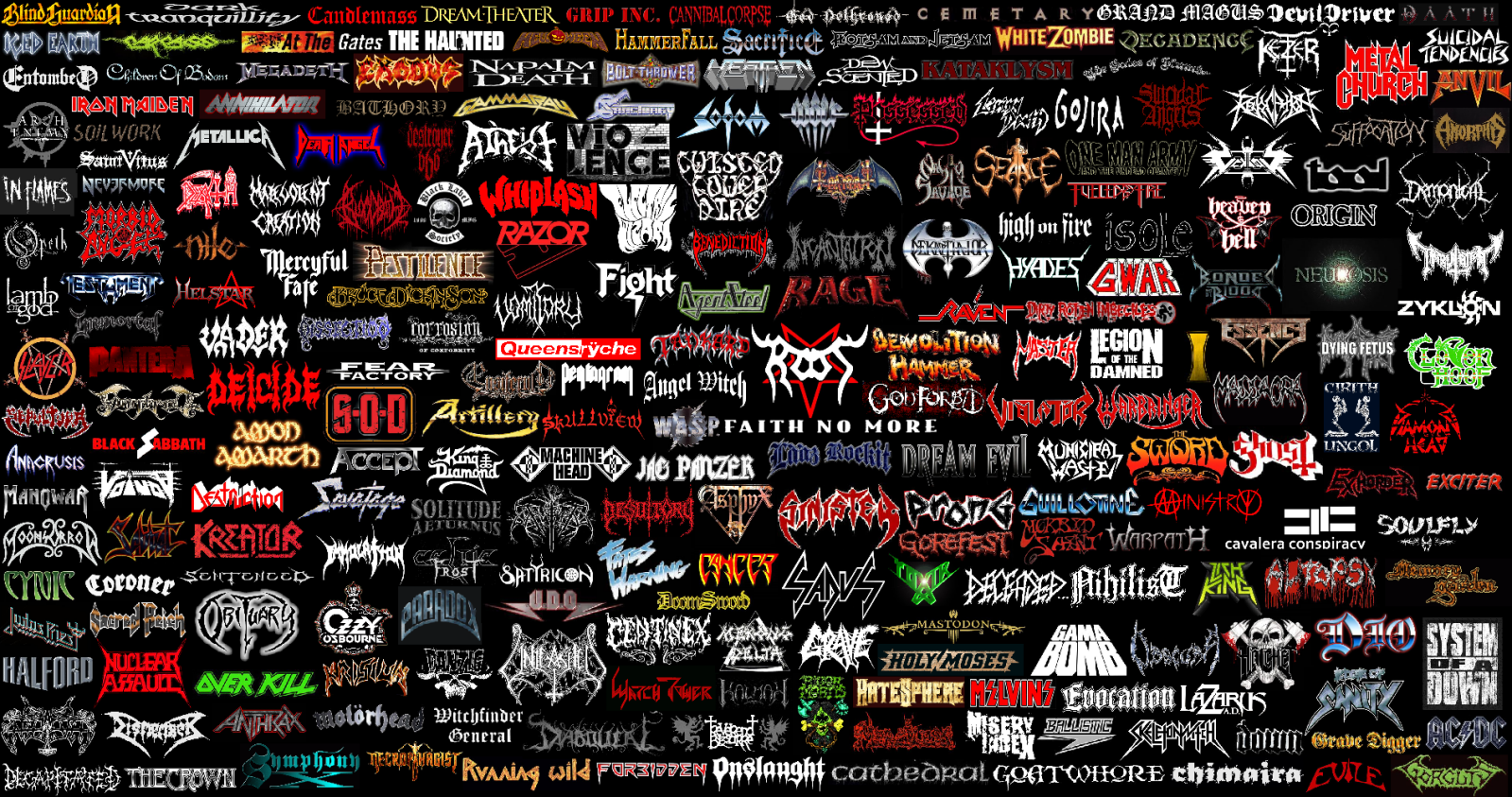 Metal Bands That Start With The Letter T