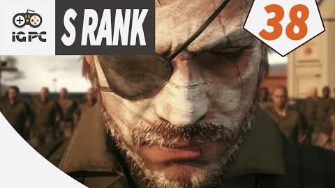 Metal Gear Solid V The Phantom Pain Episode 38 EXTRAORDINARY S RANK