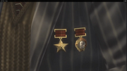 Granin's Order of Lenin and Order of Stalin