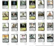 Metal gear cardset 7