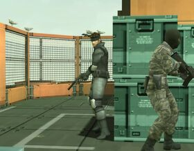 MGS2S Solid Snake (MGS1)
