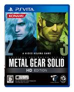 Mgs hd edition vita boxart