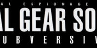 Metal Gear Solid 2: Subversive
