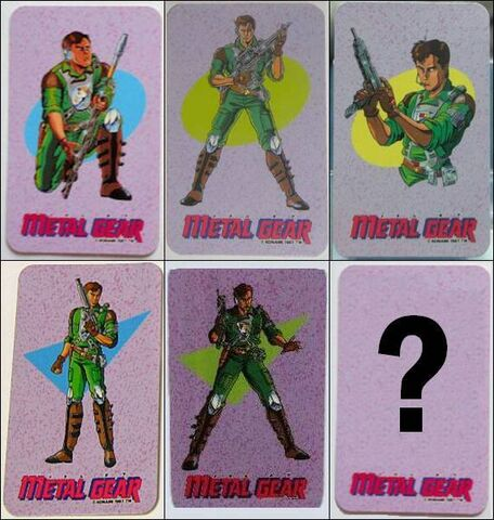 File:FC Metal Gear character cards.jpg