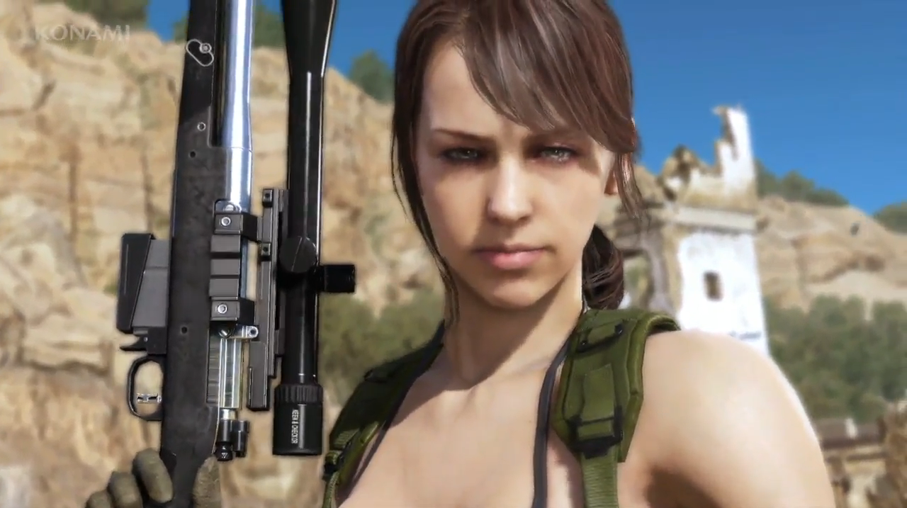 Let's Talk About THAT Quiet Scene in Metal Gear Solid V - CraveOnline