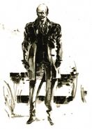MGS3 Sokolov Artwork