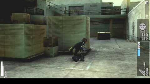 "MGS PEACE WALKER Night 1 ""For Starters A Solo Sneaking Mission"""