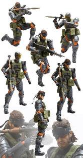 Metal gear toys (4)