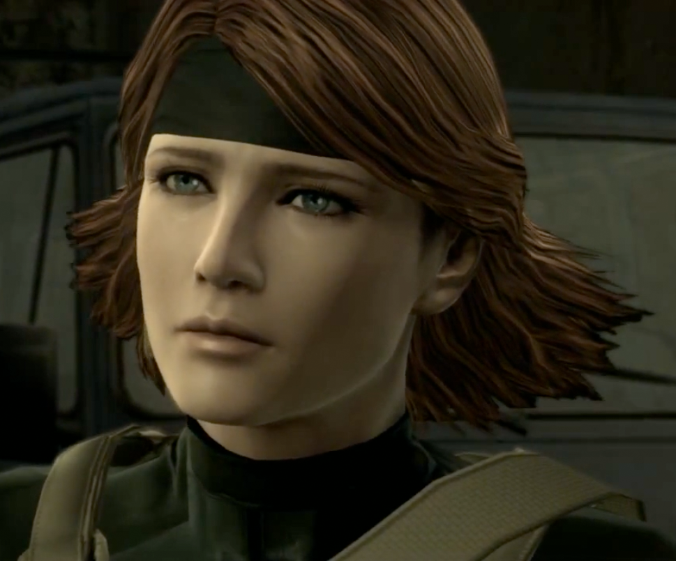 Meryl from Metal Gear Solid