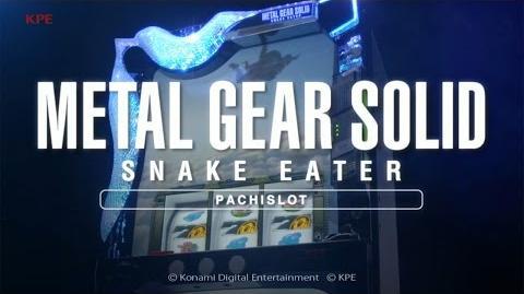 【公式】パチスロ「メタルギア ソリッド スネークイーター」プロモーションムービー-0