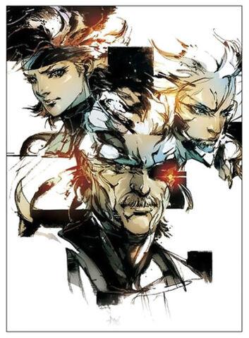 File:Metal Gear Solid 4 Guns Of The Patriots Solid Snake, Meryl Silverburgh, and Raiden.jpg