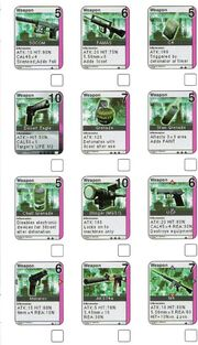 Metal gear cardset 1