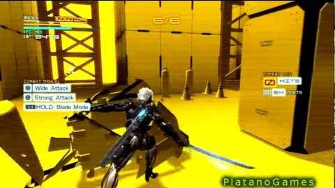 METAL GEAR RISING REVENGEANCE - Extensive Blade Mode VR Training - Tutorial Part 1 - HD