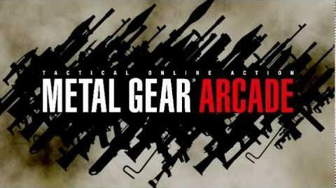 METAL GEAR ARCADE オープニング動画