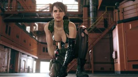 Quiet But Not Silent - MGSV THE PHANTOM PAIN (PEGI)
