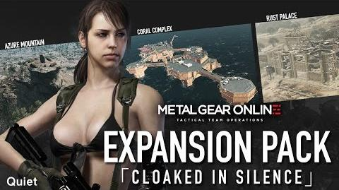 "【公式】 METAL GEAR ONLINE 「BREAK THE SILENCE」 - EXPANSION PACK ""CLOAKED IN SILENCE"" KONAMI (CERO)"