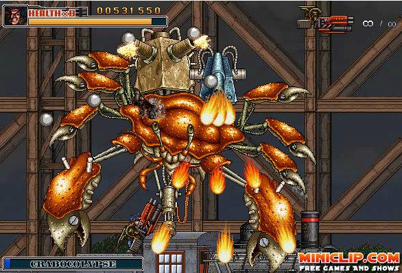 RTTP Commando 2 Flash Game