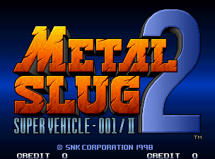 Metal Slug 2 logo