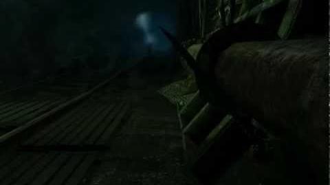 Metro 2033 (Stealth hardcore challenge walkthrough) Chapter 2 Lost Tunnel