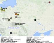 Szepty zgładzonych - polska mapa