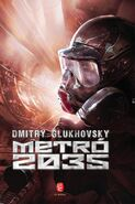 DeviantArt: More Like Metro 2035 cover fanart by Johnyzlampy