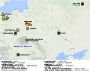 Szepty zgładzonych - rosyjska mapa