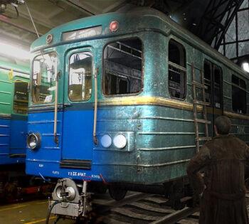 Easter egg traincar E2