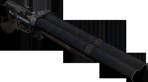 Homemade Metro2033/ Light Light Duplet (Double Barreled Shotgun ...