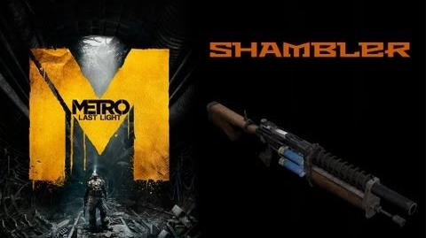 Metro Last Light Weapons (Shambler Uboinik automatic shotgun)-0