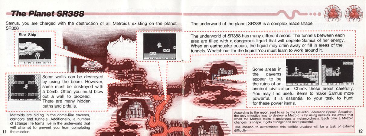 Metroid 2 Instruction Manual