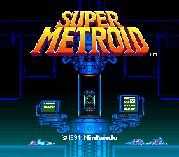 Archivo:Super Metroid title.png