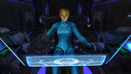 Samus Zero Suit HD Gunship interior HD