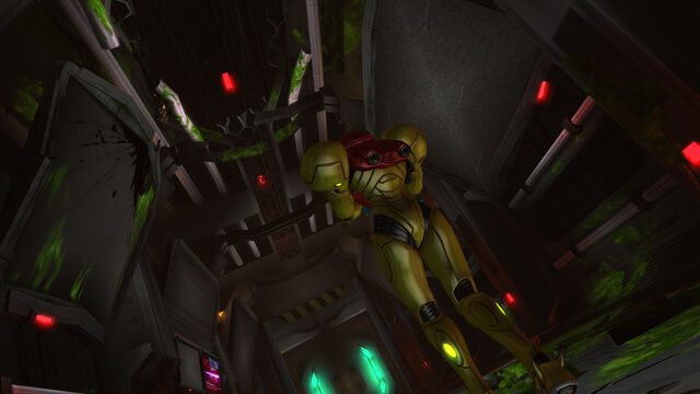 File:Samus cautious green blood Mystery Creature Ridley Pyrosphere HD.jpg