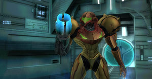 Samus acquires Missile Launcher