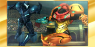 SSB4-3DS Congratulations All-Star Samus