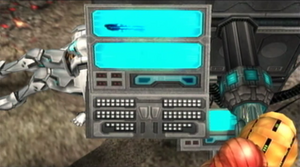 Galactic Federation data terminal