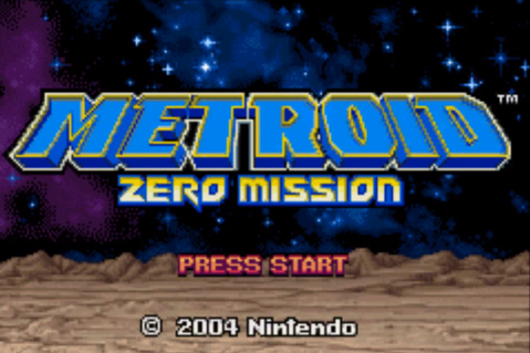 File:Metroid Zero Mission Title Screen.png
