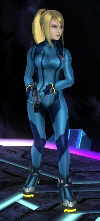 Zero Suit Samus profile shot
