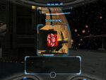 Scan visor scanning orpheon red sight window exterior docking hangar dolphin HD
