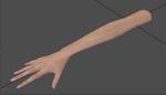 Samus bare hand MP1